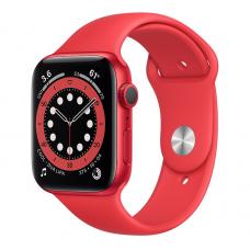 Apple Watch Series 6, 40 mm, Корпус из алюминия цвета (PRODUCT)RED, спортивный ремешок (PRODUCT)RED
