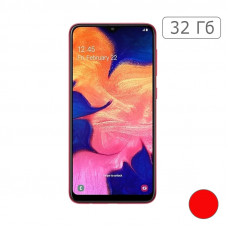 Galaxy A10 32Gb Red/Красный