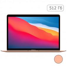 """MacBook Air 13"""" 2020 Quad Core i5 1,1 ГГц, 8 ГБ, 512 ГБ SSD, Gold MVH52RU/A"""