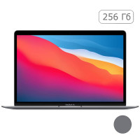 MacBook Air (M1, 2020) 8 ГБ, 256 ГБ SSD, Space Gray MGN63RU/A