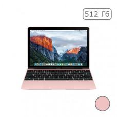 "MacBook 12"" Retina Rose Gold 512 GB Flash MNYN2"