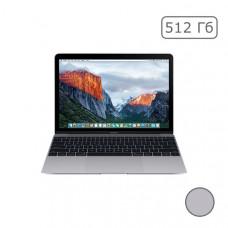 "MacBook 12"" Retina Space gray 512 GB Flash MNYG2"