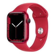 Apple Watch S7, 41 mm, Корпус из алюминия цвета (PRODUCT)RED, спортивный ремешок (PRODUCT)RED