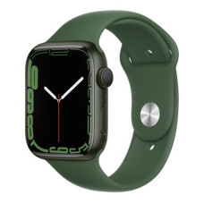 Apple Watch S7, 41 mm, корпус из алюминия зелёного цвета, ремешок зелёного цвета