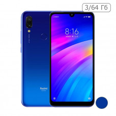 Xiaomi Redmi 7 3/64 Gb Синий / Blue