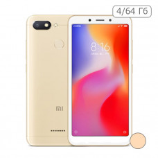 Xiaomi Redmi 6 4/64 Gb Золотой / Gold